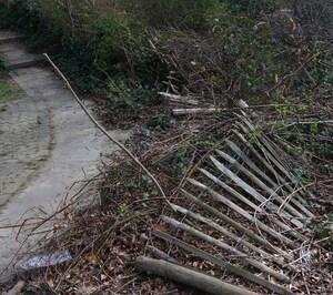 Nettoyage de printemps au parc de Roodebeek