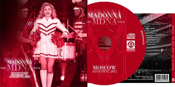 The MDNA Tour - Audio Live in Moscow