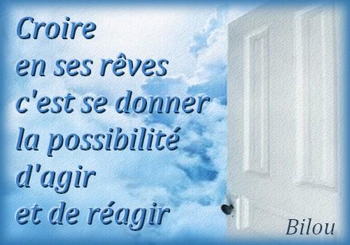Croire...