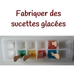 Des sucettes glacées
