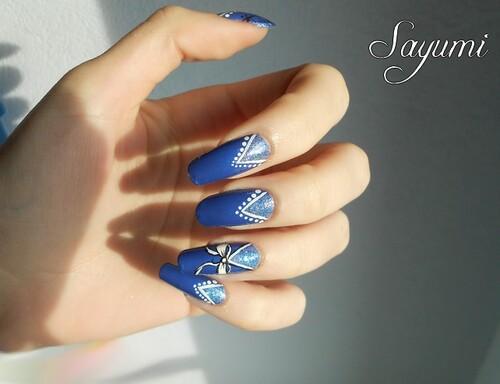Nail Art Uniforme pailleté