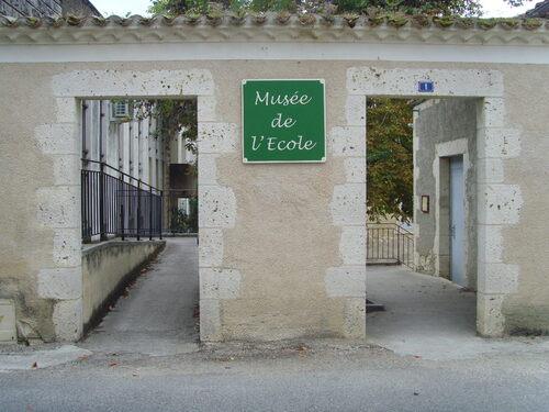 Le musée de l'ecole.