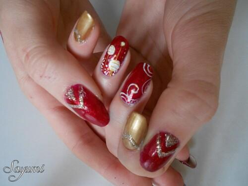 Nail Art de Noël 2015