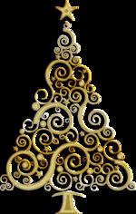 PNG képek: Fenyőfák, karácsonyfák