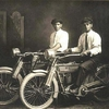 William Harley et Arthur Davidson en 1914