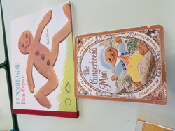 Sac à histoire The Gingerbread Man cycle 3