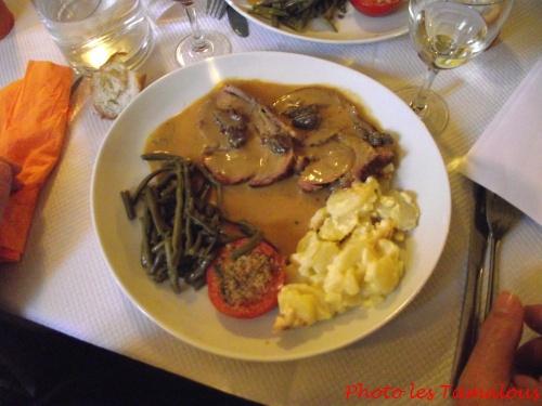 Le repas des Tamalous...