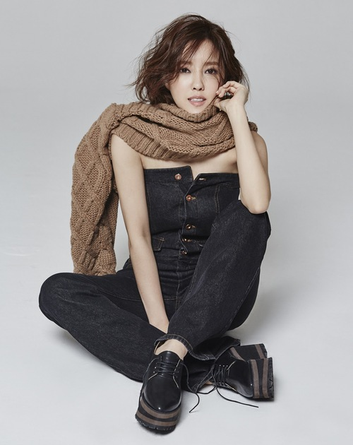 Hyo Min pour Instyle