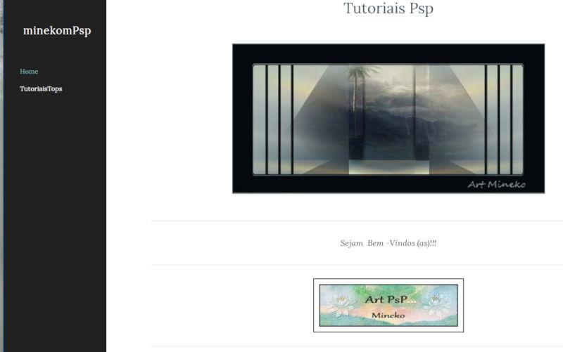 Son nouveau site...