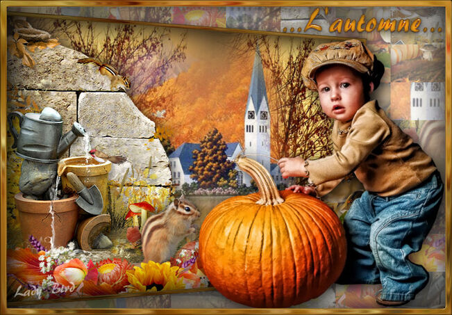 Chez Nastia c'est l'automne