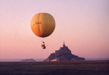 Aérostat au Mont St Michel