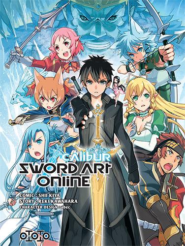 Sword art online - Calibur - Shii Kiya & Reiki Kawahara & Abec