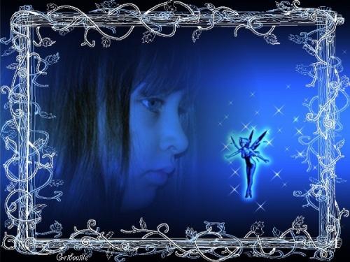 Défi en bleu