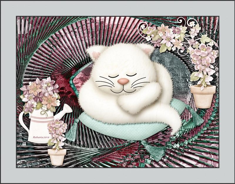 Le chat qui dort-RobertaRavine