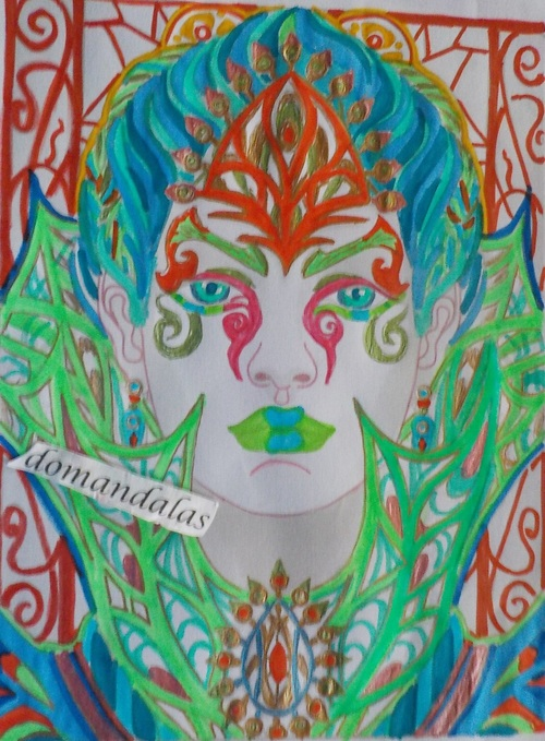 DOMANDALAS  coloriage magical beauties fay enchantress Cristina Mcallistair