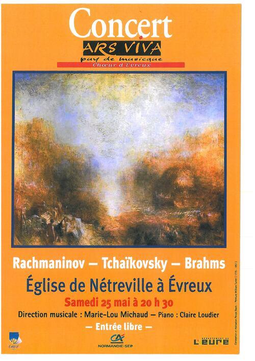 SAMEDI 25 Mai 2013 à 20h30 Concert à Netreville