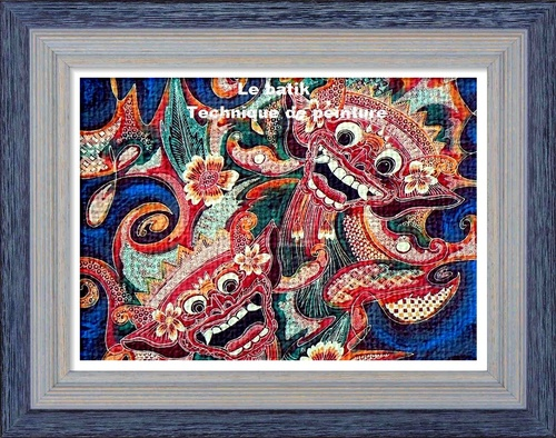 Dessin et peinture - vidéo 2982 : Comment réaliser les techniques du batik ? - tous les supports.