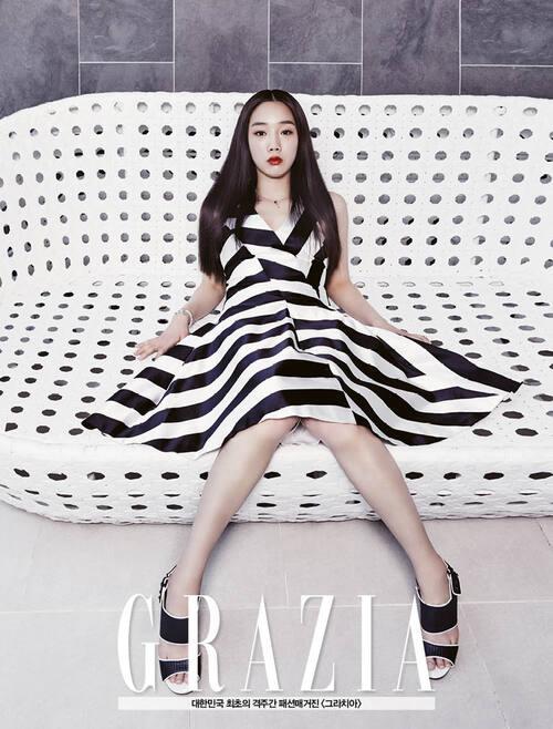 Jung Yeon Joo pour Grazia
