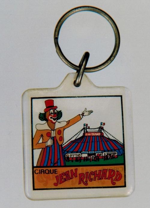 le porte clé du cirque Jean Richard