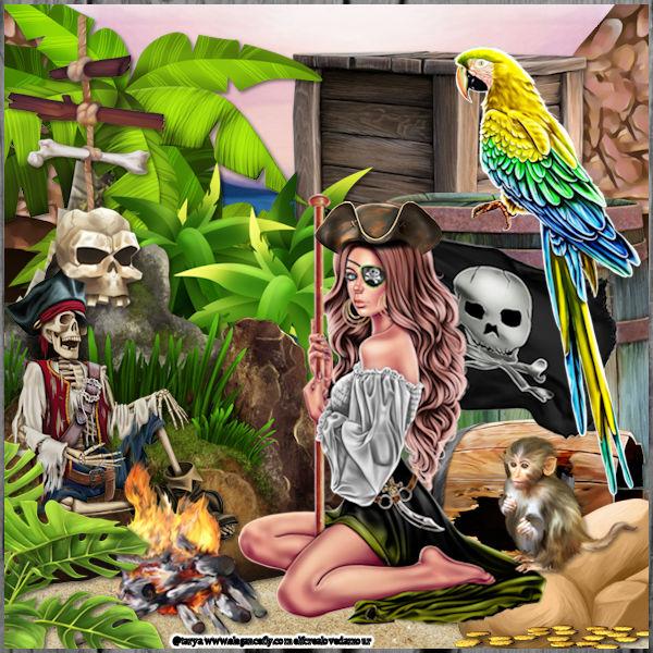 239 madame la pirate