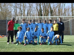 U12-A Paris Football Club 2002 & Coach Ismaël