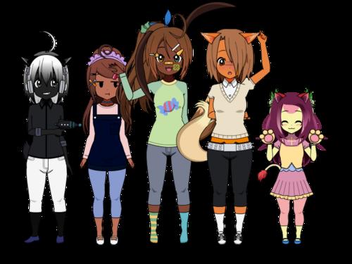 [Pokémon] Changement d'outfits