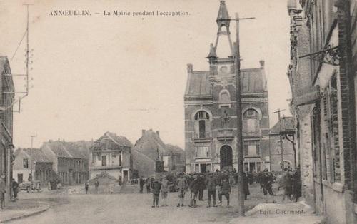 ANNOEULLIN - La Mairie pendant l'occupation