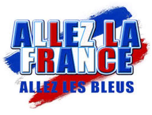 Allez la France...