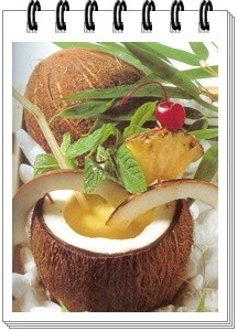 Cocktail  base de coco