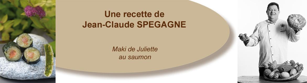 Maki de Juliette au saumon