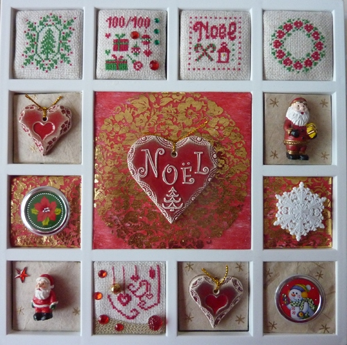 cartes et broderies NOël