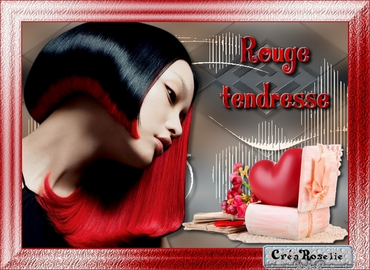 Rouge passion !