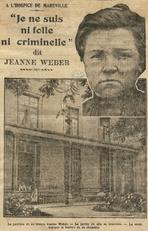 Jeanne Weber à Maréville