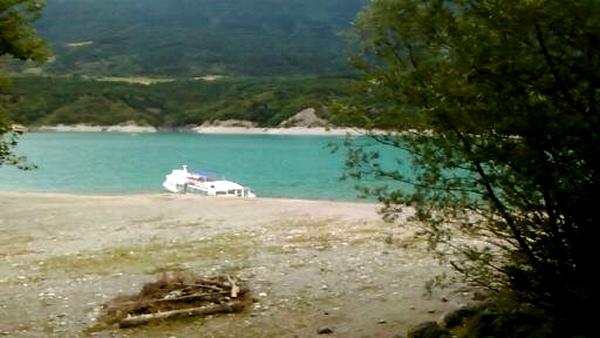 Le lac de Monteynard;