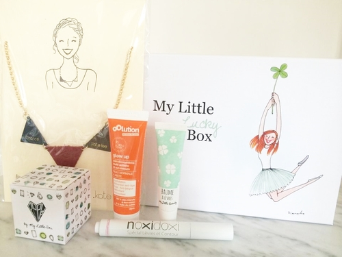 My Little Box Avril 2014 ~ Spoilers & Versions