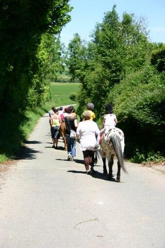 notre sortie poney