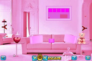 Jouer à Wow Valentines room escape