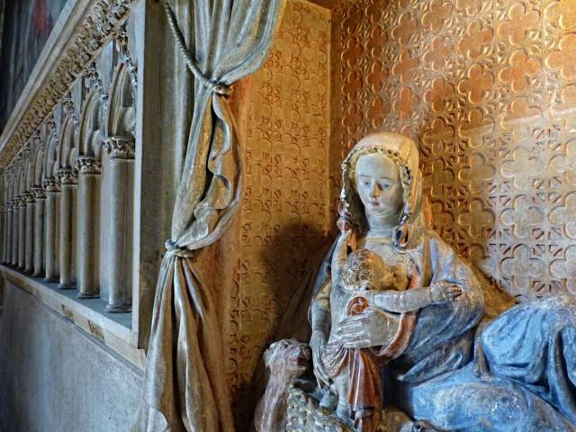 Nativité allaitante église Saint-Martin Metz 8 Marc de Me