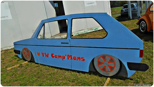 VW CAMP'MANS  le 29 Aout 2015 à Lavaré (72)