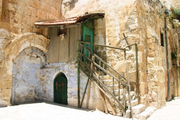 Vieille bâtisse de Jérusalem