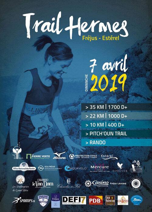 prochaine courses Trail Hermes - Fréjus