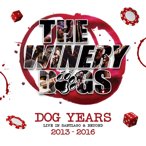 THE WINERY DOGS - Les détails du prochain DVD/Blu-ray live