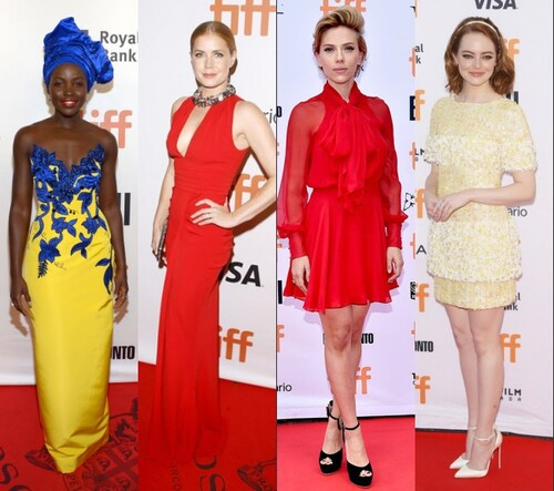 Belles robes au Toronto International Film Festival 2016
