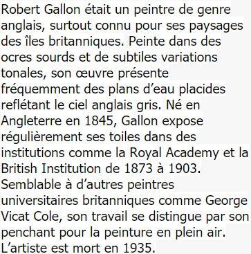 Robert Gallon