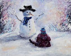 Bonhomme de neige..