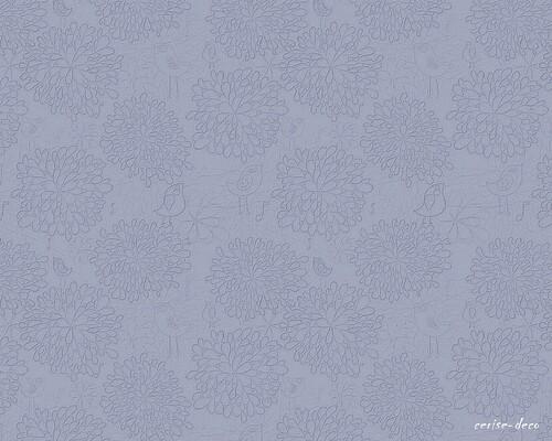 design bleu grisé naif