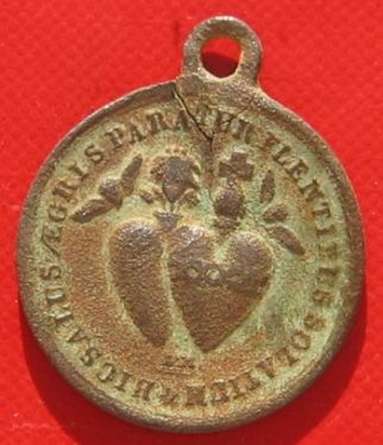 Médaille religieuse avers
