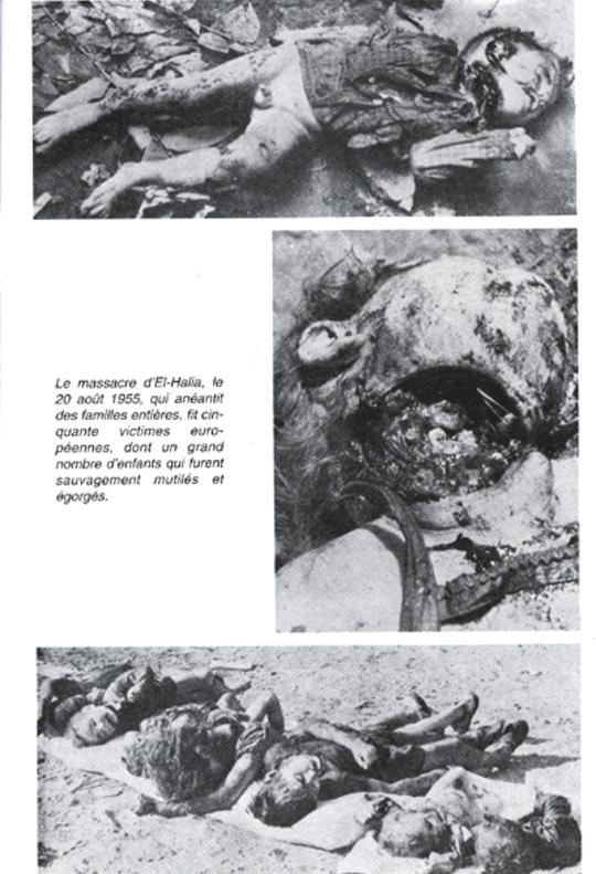 Le 20 août 1955  Le massacre d'El-Halia  ...