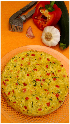 "GALETTES DE COURGETTES AUX POMMES DE TERRE,""Weight Watchers"""