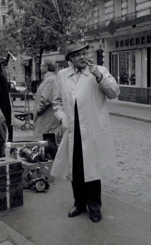 tournage d'un épisode des enquètes du commissaire Maigret